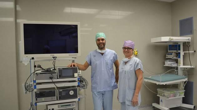 Nová laparoskopickou věž v přerovské nemocnici
