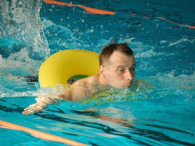 Mistrovství Moravy v plavání handicapovaných v přerovském bazéně