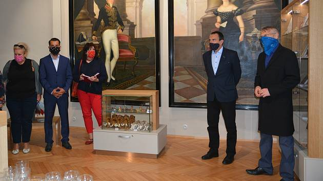 Nové vstupní prostory získalo po rekonstrukci Muzeum Komenského v Přerově.