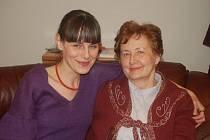 Režisérka Jana Boršková se svojí matkou Jarmilou