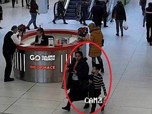 Možná svědkyně krádeže v Nákupním centru Galerie Přerov