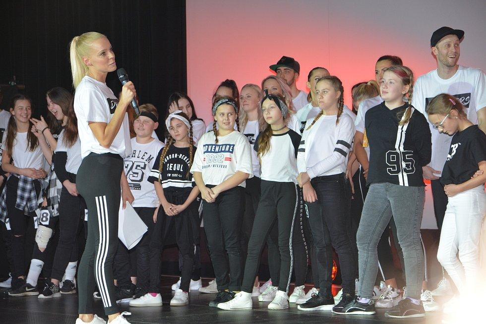Nový taneční muzikál Dreamers - Snílci, který připravila taneční škola Duckbeat, v přerovském kině Hvězda