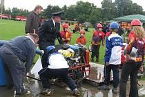 Mladí hasiči z Moravy i Opolského vojvodství v Polsku soutěžili v Soběchlebích