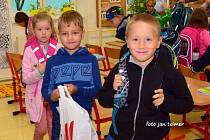 První den ve škole 1. září 2020 v Brodku u Přerova.