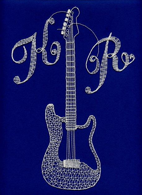 Originální logo přerovského happeningu, ke kterému se mohou připojit amatérští iprofesionální kytaristé, vytvořila Jitka Hanáková.