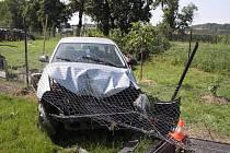 Nehoda seatu v Lýskách