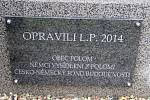 Opravený pomník