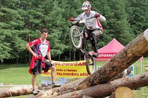Pavel Procházka. Přerovští biketrialisté na MS 2016 v Blansku.