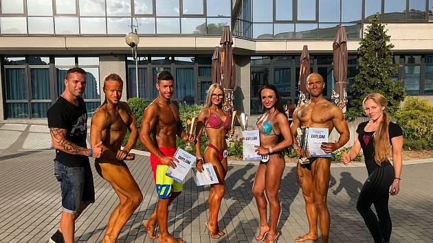 Výpravě přerovského Fitness AVE se dařilo hlavně na závodech ve Zbýšově a Olomouci.