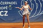 Třetí den hlavní soutěže turnaje ITF žen v Přerově s dotací 25 000 amerických dolarů. Denisa Hindová