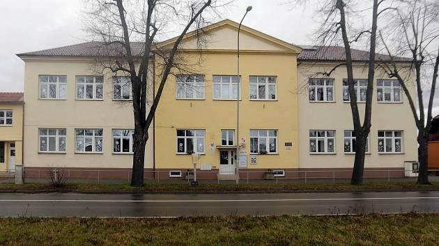 Škola v Troubkách nad Bečvou.