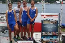 Úspěšná přerovská posádka dorostenců na Mistrovství oblasti Morava ve veslování