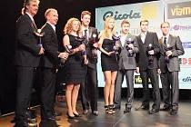 Slavnostní vyhlášení ankety Zlatý kanár v Přerově. Ilustrační foto
