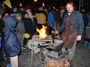 Na přerovské náměstí zavítal Mikuláš se svou družinou