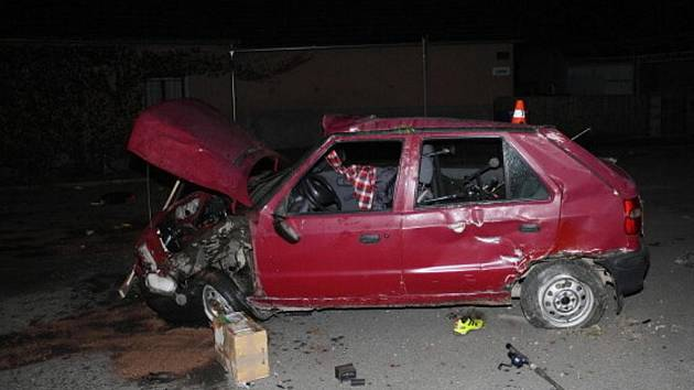 Takto dopadl zloděj, který v Potštátu o víkendu ukradl auto