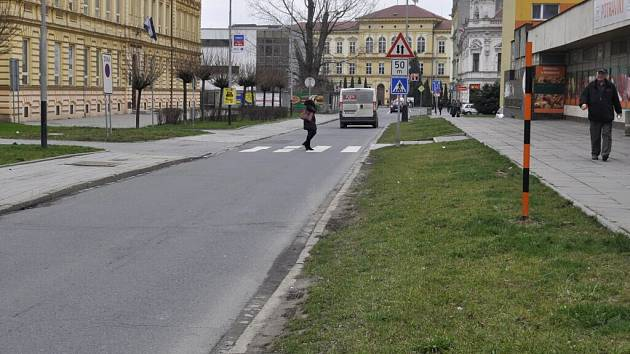 Palackého ulice v Přerově
