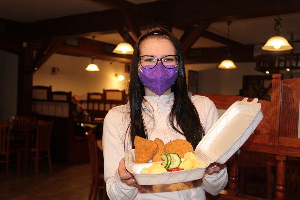 Restaurace Na Jižní v Přerově, duben 2021