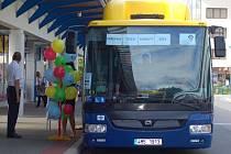 Evropský týden mobility na přerovském autobusovém nádraží