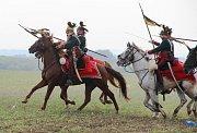 Ukázka prusko-rakouské bitvy u Tovačova z roku 1866
