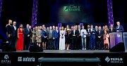Slavnostní vyhlašování prestižní ankety Zlatý kanár 2017 v Přerově