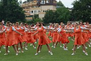 Přerov se stal v sobotu dějištěm krajského sokolského sletu, na který zavítalo na 1700 cvičenců.