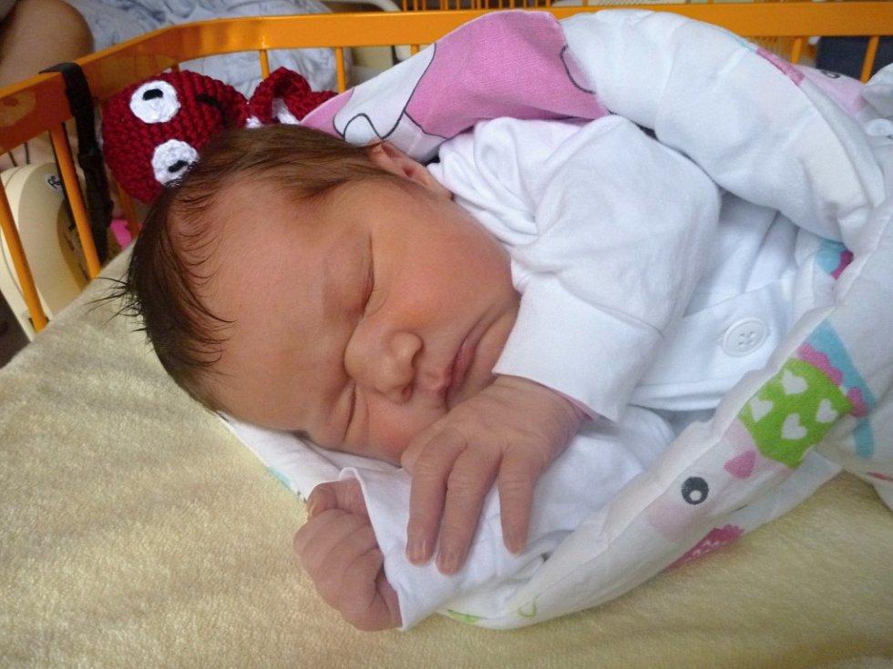 Bohuslava Mrukwiová, Hustopeče nad Bečvou, narozena 6. listopadu  2017 v Novém Jičíně, míra  53 cm, váha 4380 g