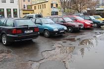 Parkování v Přerově