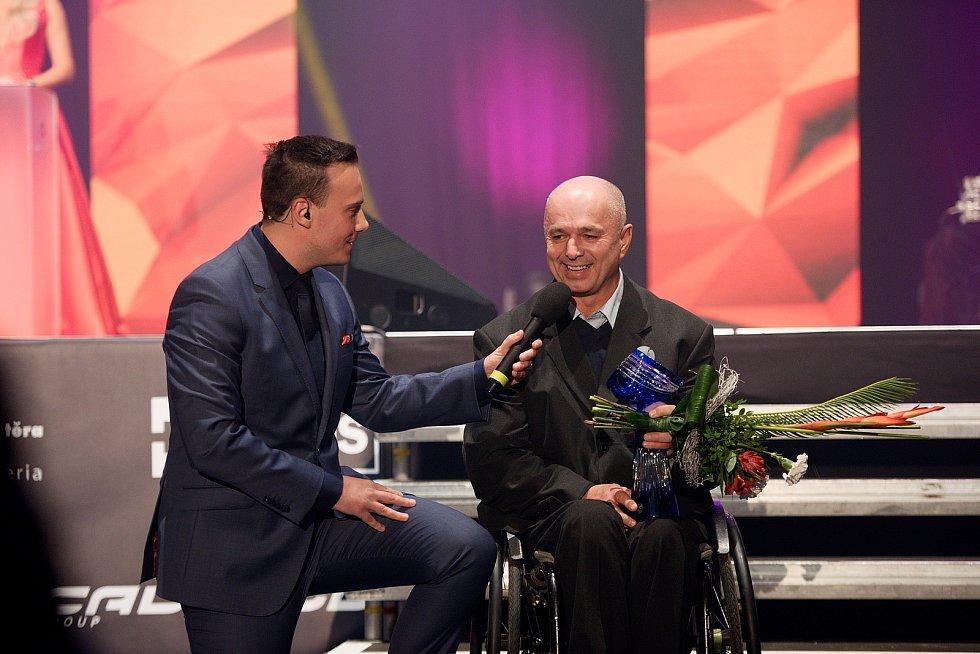 Zlatý kanár 2019 v Přerově. Nejlepší tenista na vozíku Michal Stefanu