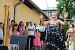 Olbram Zoubek zahájil výstavu v galerii Konírna v Lipníku nad Bečvou