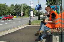 Sčítání dopravy v Přerově