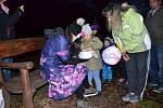 Děti z mateřské školy U Tenisu se vydaly na Lagunu za strašidly