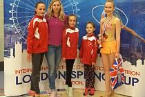 Moderní gymnastky TJ Spartak Přerov uspěly v Londýně