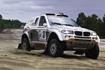 Posádka OffroadSportu Zapletal–Ouředníček z Dřevohostic testovala BMW X3