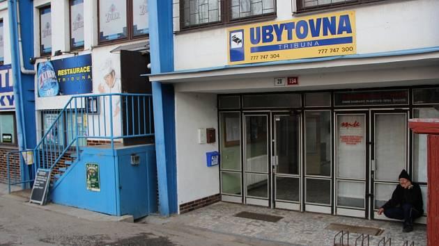 Nové sběrné místo pro Tip ligu v areálu fotbalového stadionu Viktorie Přerov.