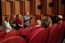 Na přerovskou premiéru dorazili i tvůrci filmu – režisér Miloslav Šmídmajer, skladatele a zpěvačka Markéta Irglová a herci Denisa Nesvačilová a Josef Náhlovský.