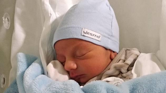 Tobin Lepič, Přerov, narozen  9. ledna 2019 v Přerově, míra 48 cm, váha 2762 g