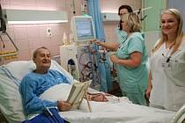 Vyšetření ledvin v přerovské nemocnici