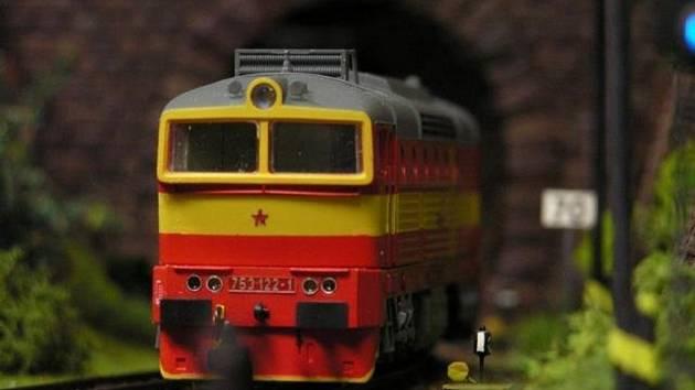 Na výstavě velkého modelového kolejiště na přerovském nádraží bude k vidění i lokomotiva zvaná brejlovec.