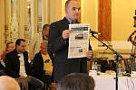 Jednání přerovského zastupitelstva o koupi hotelu Strojař 7. září 2015