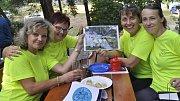 Zástupci přerovské radnice předali ceny účastníkům soutěže Přerov jede na kole.
