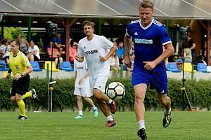 Fotbalová benefice v Kozlovicích. Marek Heinz. Foto: Deník/Jan Pořízek