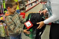Nákup školních potřeb