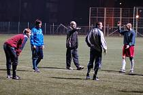 Divizní fotbalisté Přerova na tréninku