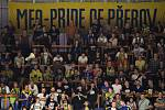 Fanoušci Přerova na derby v Prostějově