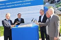 Zahájení výstavby retenčních nádrží a kanalizačních sběračů v Přerově, Kozlovicích a Dluhonicích