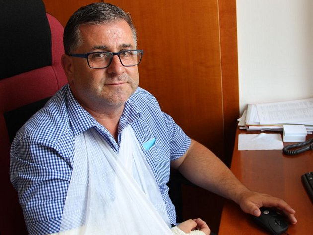 Místostarosta Kojetína Miloslav Oulehla