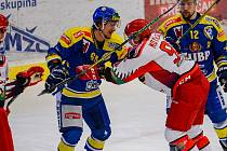 Hokejisté Přerova proti Prostějovu