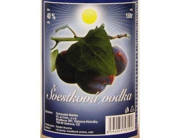 Švestková vodka z ostravské likérky