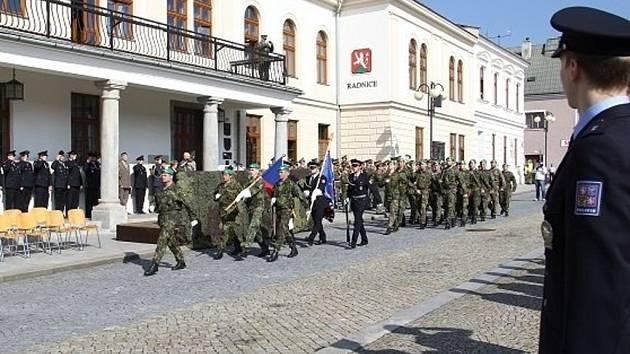 Připomínka 71. výročí ukončení druhé světové války v Lipníku nad Bečvou