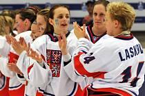 MS v hokeji žen v Přerově: ČR – Norsko
